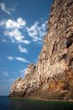 Opinión costera de la roca Imágenes de archivo libres de regalías