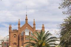 Opinión de ángulo bajo de centro cultural de Buenos Aires Recoleta Fotos de archivo