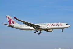 Opinión de Airbus A330-200 Imagenes de archivo