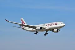 Opinión de Airbus A330-200 Imagen de archivo libre de regalías