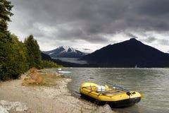 Opinión de Alaska foto de archivo