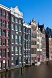 Opinión de Amsterdam Fotos de archivo libres de regalías