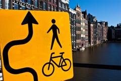 Opinión de Amsterdam Fotos de archivo