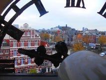 Opinión de Amsterdam Fotografía de archivo