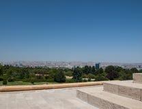 Opinión de Ankara Fotos de archivo
