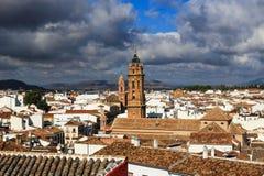 Opinión de Antequera Foto de archivo
