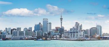 Opinión de Auckland al mediodía Imagen de archivo libre de regalías