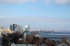 Opinión de Baku Foto de archivo