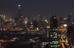 Opinión de Bangkok Imagen de archivo libre de regalías