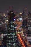 Opinión de Bangkok Imágenes de archivo libres de regalías