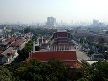 Opinión de Bangkok sobre el top Foto de archivo libre de regalías