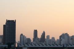 Opinión de Bankkok Fotografía de archivo libre de regalías