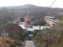 Opinión de Bautifull del templo en la INDIA imagen de archivo libre de regalías