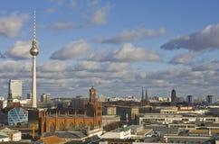 Opinión de Berlín Imagenes de archivo