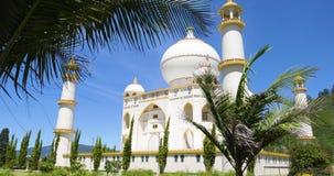 Opinión de Bogotá Jaime Duque Park Taj Mahal del jardín almacen de video