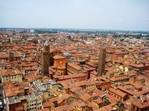 Opinión de Bolonia Fotografía de archivo libre de regalías