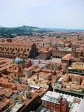 Opinión de Bolonia Foto de archivo