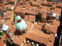 Opinión de Bolonia Foto de archivo libre de regalías