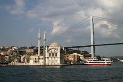 Opinión de Bosphorus Fotografía de archivo libre de regalías
