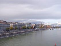 Opinión de Budapest Imagen de archivo libre de regalías