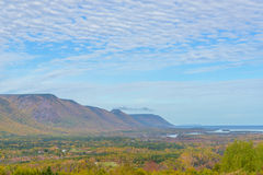 Opinión de Cabot Trail Scenic Imagenes de archivo