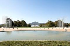 Opinión de Canberra Imagenes de archivo