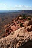 Opinión de Canyonlands de la isla en el cielo Fotografía de archivo libre de regalías