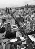 Opinión de Caracas Imagen de archivo libre de regalías