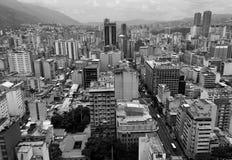 Opinión de Caracas Fotos de archivo libres de regalías