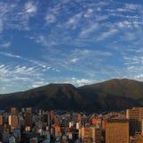 Opinión de Caracas Imágenes de archivo libres de regalías