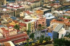 Opinión de centro de ciudad Imagen de archivo