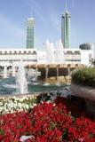 Opinión de centro de ciudad de Manama Foto de archivo libre de regalías
