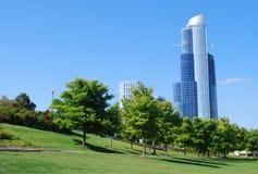 Opinión de Chicago imagen de archivo libre de regalías