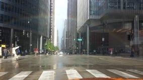 Opinión de Chicago Foto de archivo libre de regalías