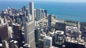 Opinión de Chicago Fotos de archivo