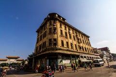 Opinión de Chinatown en el La La Habana Fotos de archivo