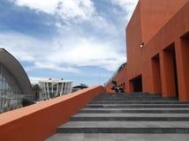 Opinión de Colorfull en el centro cultural de MexicoFotografía de archivo