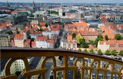 Opinión de Copenhague Imagen de archivo