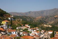Opinión de Crete fotos de archivo libres de regalías