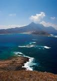 Opinión de Crete fotografía de archivo