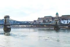 Opinión de Danubio Fotografía de archivo libre de regalías