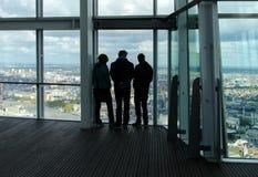 Opinión de edificio alto Fotos de archivo