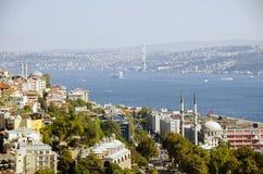 Opinión de Estambul Fotos de archivo libres de regalías