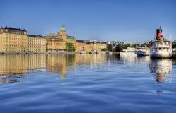 Opinión de Estocolmo. Fotografía de archivo libre de regalías