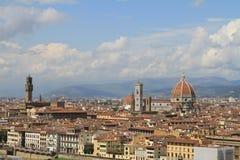 Opinión de Florencia, Italia de la ciudad Imagen de archivo