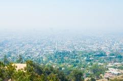 Opinión de Glendale Imagenes de archivo