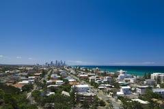 Opinión de Gold Coast Imagen de archivo libre de regalías