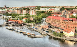 Opinión de Goteburgo Imagen de archivo libre de regalías