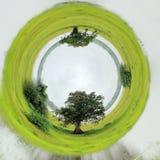 opinión de 360 grados de humedales del parque nacional Yala Imagen de archivo