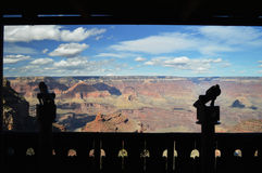 Opinión de Grand Canyon Fotografía de archivo